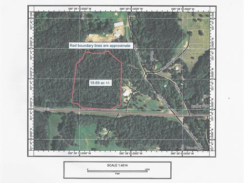Commercial Land For Sale, Rusk, TX : Rusk : Cherokee County : Texas