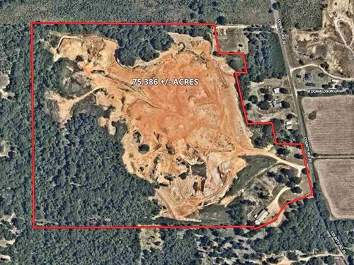 Active Dirt Pit Business East Texas : Tyler : Smith County : Texas