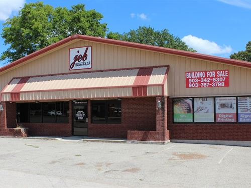 Large Commercial Building : Winnsboro : Wood County : Texas