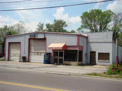 Garage Building Equipment Main : Marion : Smyth County : Virginia
