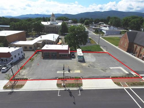 Commercial Space Downtown : Wytheville : Wythe County : Virginia