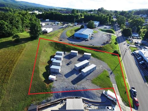 Storage Building Investment : Wytheville : Wythe County : Virginia