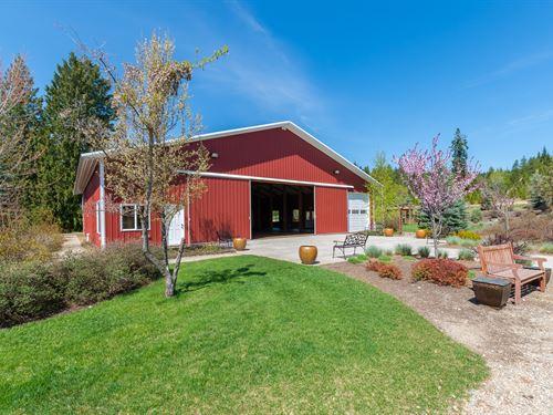 Christmas Tree Farm & Event Center : Elk : Pend Oreille County : Washington