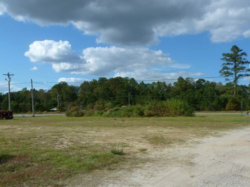 .60 Acre Commercial Lot : Beulaville : Duplin County : North Carolina