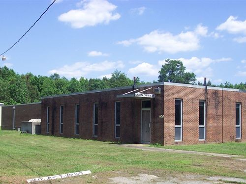 Commercial Property Ready Your : Woodland : Northampton County : North Carolina
