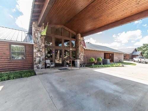 Motel Cabins Investment Property : Broken Bow : McCurtain County : Oklahoma