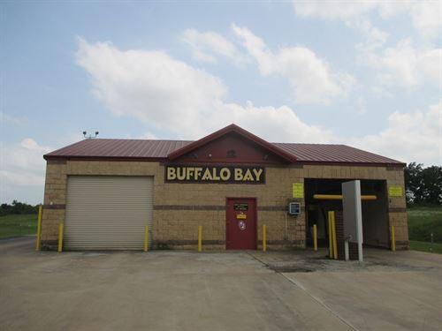 Buffalo Bay Car Wash For Sale : Hugo : Choctaw County : Oklahoma
