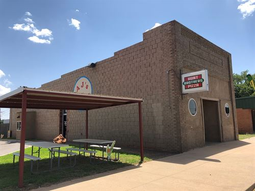 Commercial Building/Restaurant : Thomas : Custer County : Oklahoma