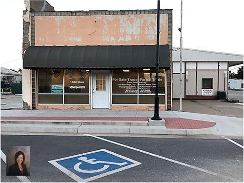 Commercial Building Waynoka, OK : Waynoka : Woods County : Oklahoma