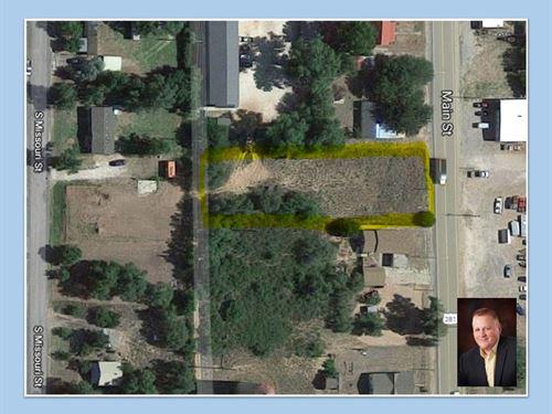 Commercial Lot For Sale Waynoka OK : Waynoka : Woods County : Oklahoma