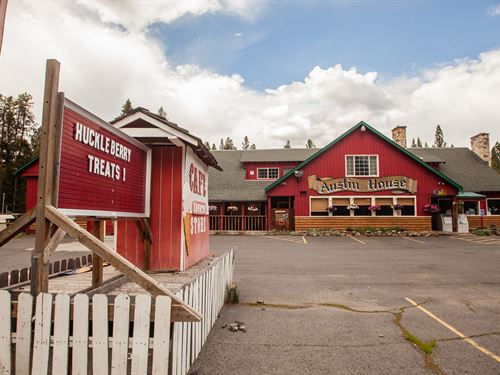 Profitable Oregon Cafe' Country : Bates : Grant County : Oregon