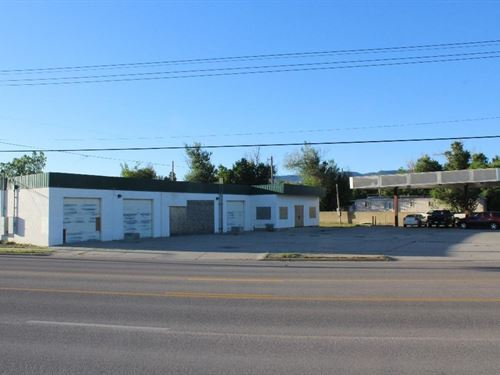 Former Car Wash Excellent Location : Casper : Natrona County : Wyoming