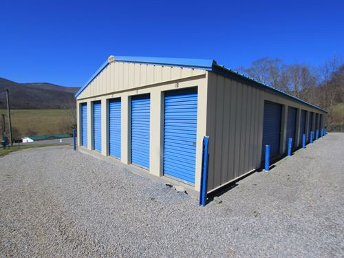Mini-Storage Units : Troutdale : Grayson County : Virginia