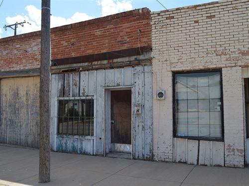 Commercial Building Wichita County : Burkburnett : Wichita County : Texas