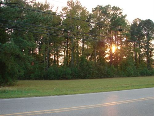 Commercial Building Lot Great : Ahoskie : Hertford County : North Carolina