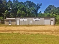 Commercial Steel Framed Building Fo : McComb : Pike County : Mississippi