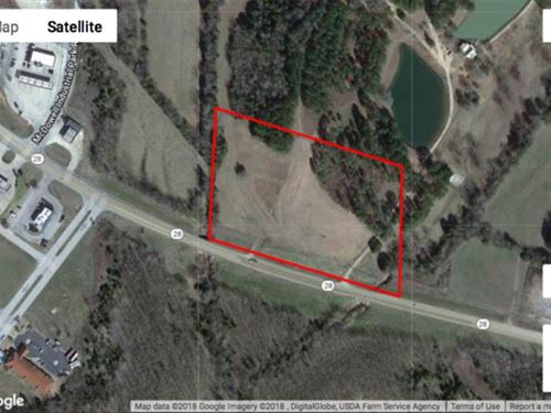 10 Acre Commercial Parcel on Hwy : Livingston : Sumter County : Alabama