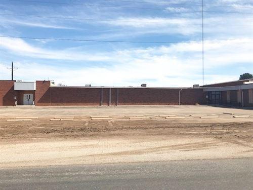 Large Former School Building Forsan : Big Spring : Howard County : Texas