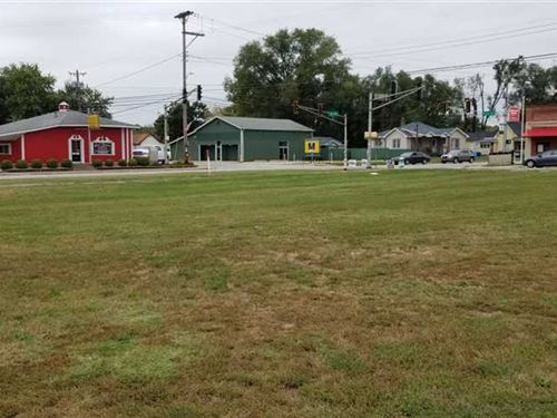 US 150 And Paris Avenue : West Terre Haute : Vigo County : Indiana