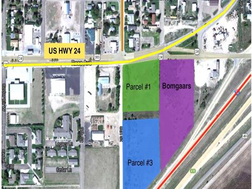 Parcel 1, Commercial Land : Burlington : Kit Carson County : Colorado
