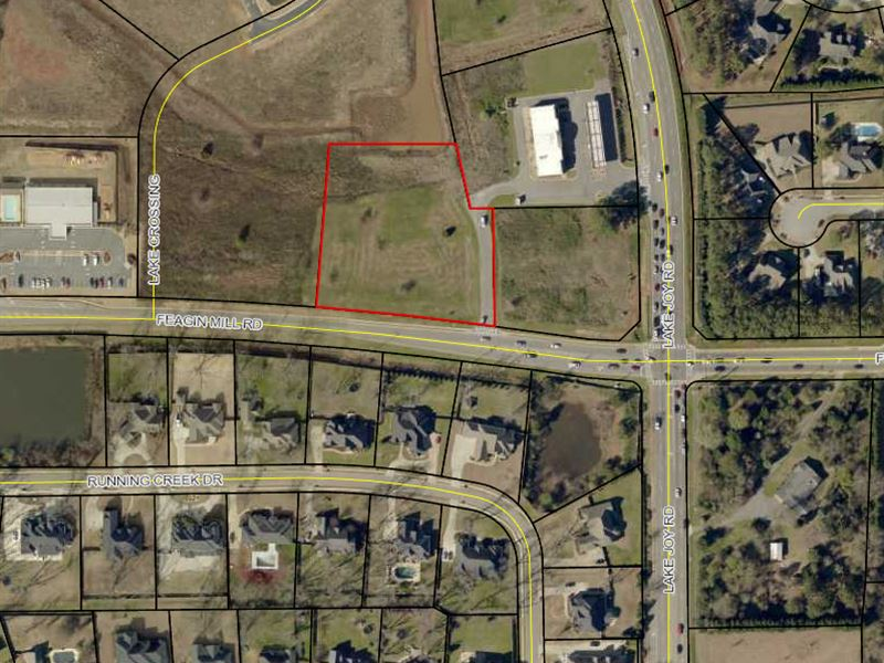 Commercial Lot On Feagin Mill Road : Warner Robins : Houston County : Georgia