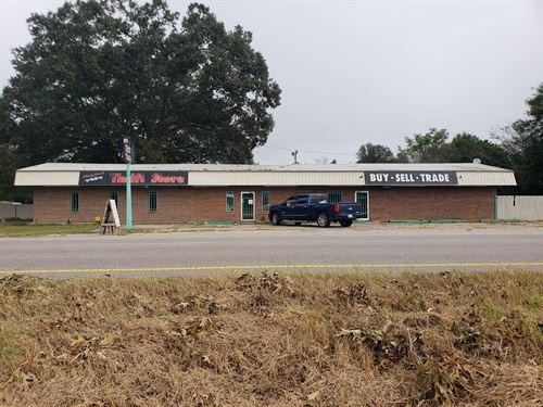 Commercial Building Hwy 84, Newton : Newton : Houston County : Alabama