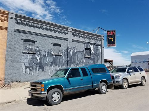 Montana Bar Gaming, Historic Conrad : Conrad : Pondera County : Montana