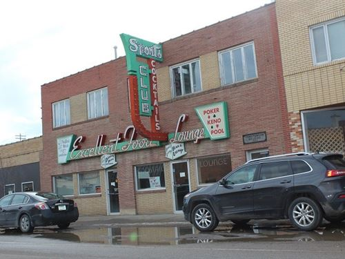 MT Historic Restaurant Downtown : Shelby : Toole County : Montana