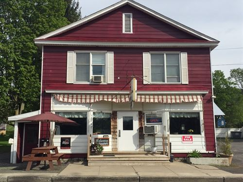 Diner, Apartments, Coffee Shop : Cuyler : Cortland County : New York