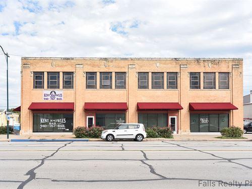 Office Space Lease Downtown Wichita : Wichita Falls : Wichita County : Texas