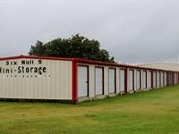 62-Unit Self Storage : Moody : McLennan County : Texas