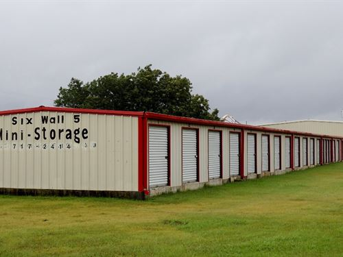 62-Unit Self Storage : Moody : McLennan County : Texas