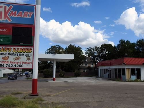 C-Store, Cafe, Canopy : Temple : Bell County : Texas
