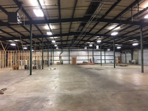 Industrial Warehouse For Lease : Perry : Houston County : Georgia