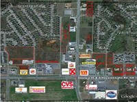 3 Commercial Lots On Hwy 96 : Warner Robins : Houston County : Georgia