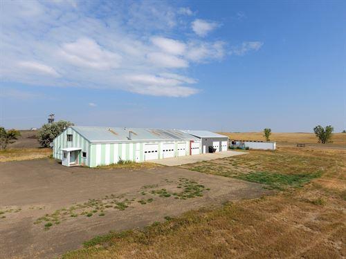 Commercial Shop Wibaux, Montana : Wibaux : Montana
