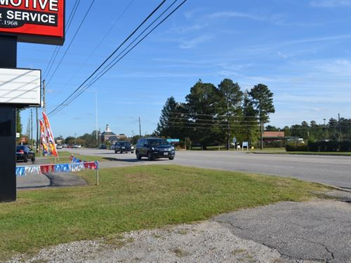 Commercial Lot On Hwy 970 Cheraw Sc : Cheraw : Chesterfield County : South Carolina