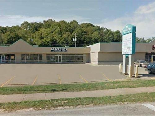 15,396+/- Sf Income Producing Strip : Zanesville : Muskingum County : Ohio