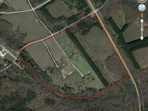 Unique +/- 127 Ac Industrial Site : Social Circle : Walton County : Georgia