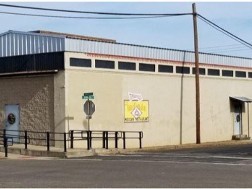 Commercial Building Overton TX : Overton : Rusk County : Texas