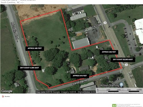 Commercial Lot, Pearman Dairy Road : Anderson : South Carolina