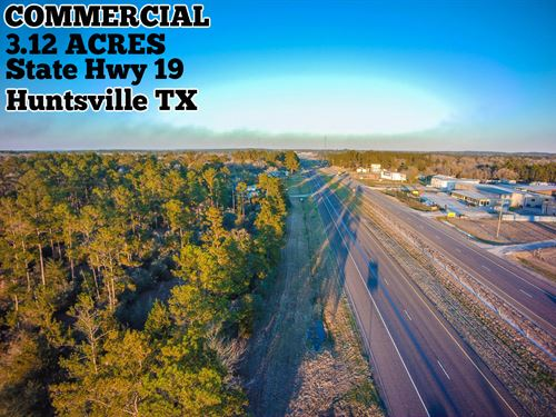 3.12 Acres In Walker County : Huntsville : Walker County : Texas