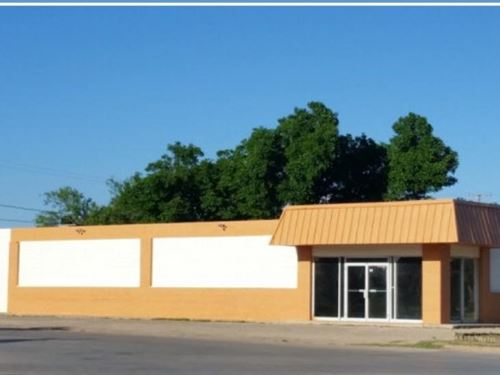 Commerical Building For Sale : Big Spring : Howard County : Texas