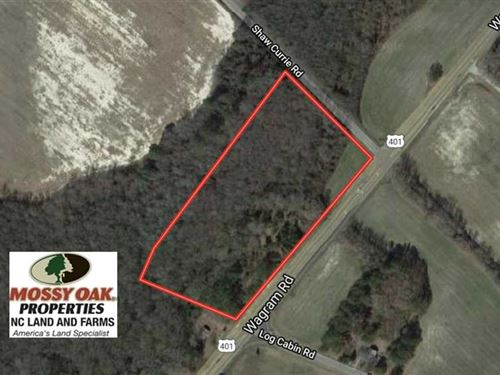 8 Acres of Timber And Potential CO : Laurinburg : Scotland County : North Carolina