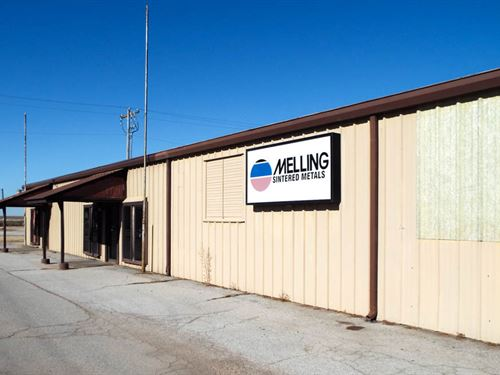 50,356 Sq Ft Building On 8.33 Acres : Billings : Noble County : Oklahoma