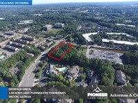 1.44 Acres Deerfield Green : Milton : Fulton County : Georgia