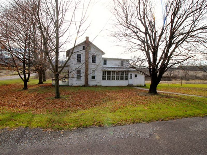 Home, Grist Mill, Detached Garage : Bloomsburg : Columbia County : Pennsylvania