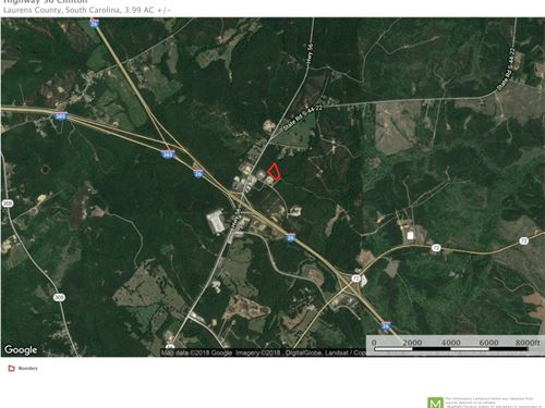 3.9 Acres Commerce Ave, Clinton : Clinton : Laurens County : South Carolina
