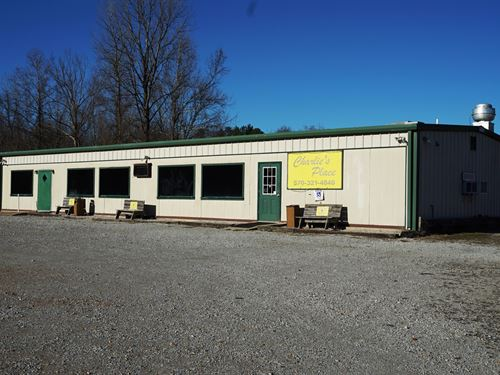 Northeast Arkansas Commercial : Ravenden : Lawrence County : Arkansas