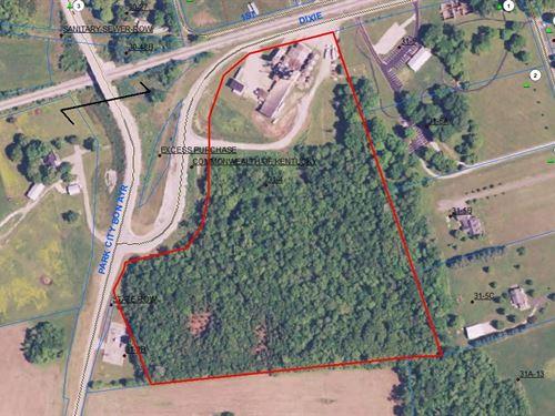 Park City Feed Mill 21.9 Ac 2 : Park City : Barren County : Kentucky